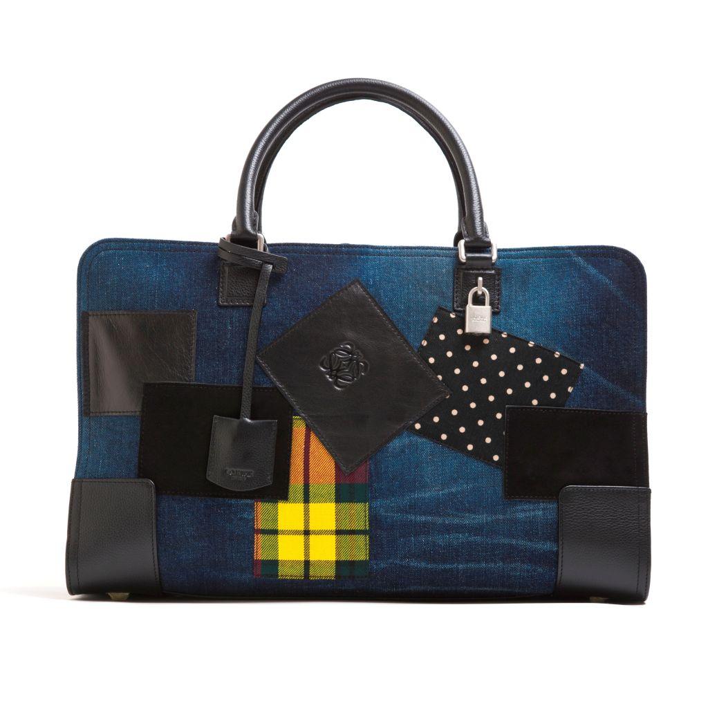 Loewe Junya Amazona 24HR Bag_Textile & Calf $ 26950