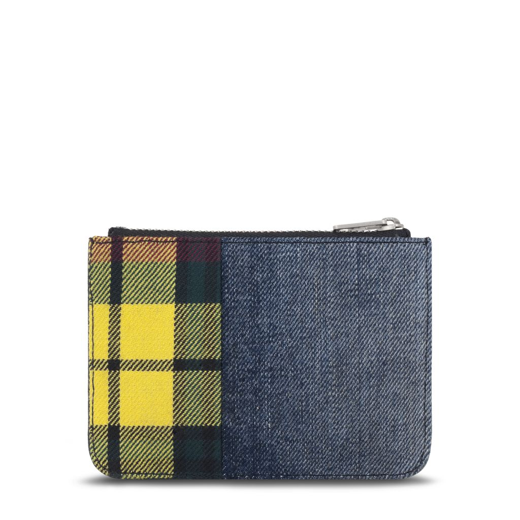 Loewe Junya Coin Purse_Textile Calf_Blue Black_HKD 2700