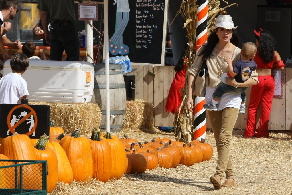 Blairs pumpkin patch day