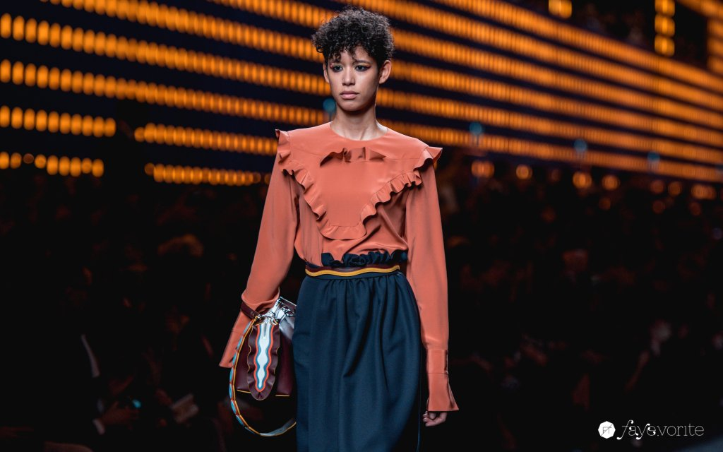 Milan Fashion Week ss2016 Fendi Faye Tsui 02