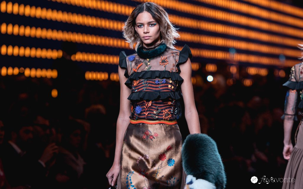 Milan Fashion Week ss2016 Fendi Faye Tsui 11