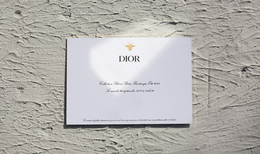 DIOR_Spring-Summer 2018_INVITATION_© Sophie Carre (2)